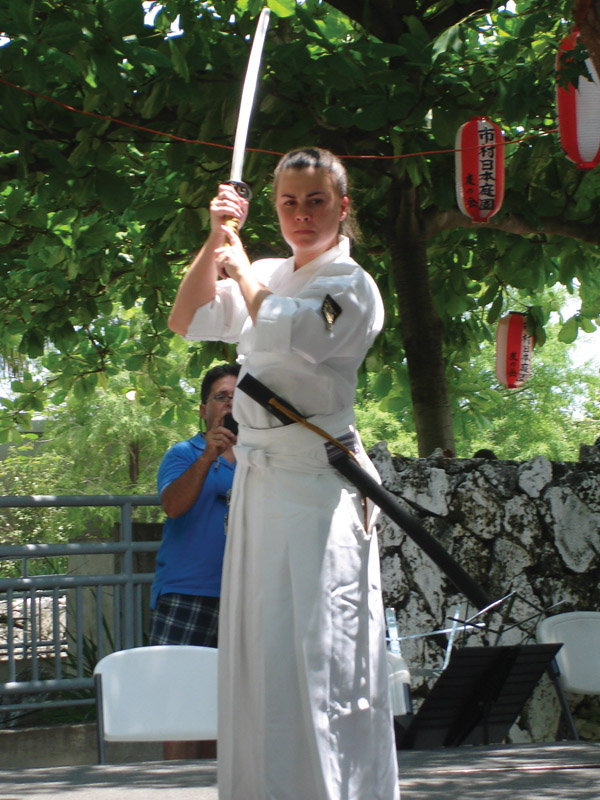 martial arts demonstration