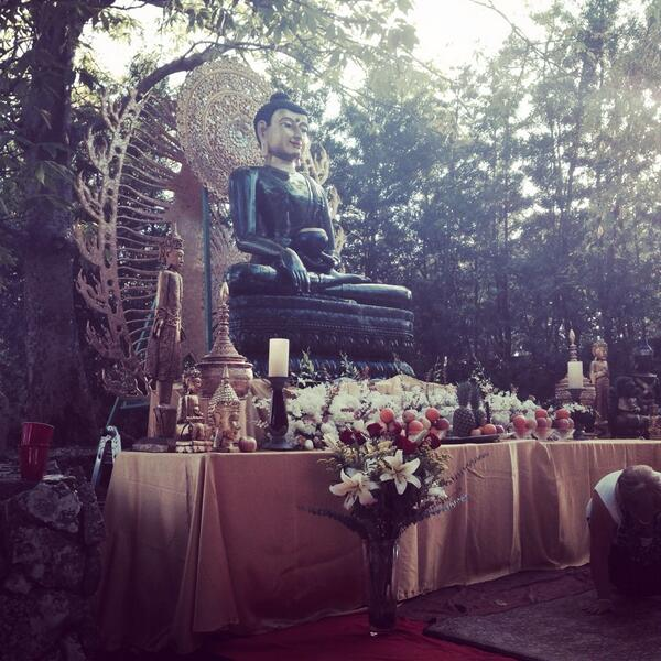 Jade Buddha in the Japanese Garden from @MaxineViktor